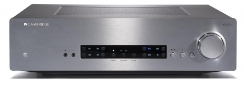 Cambridge Audio CXA60 Stereo 120W Integrated Amplifier (Silver)