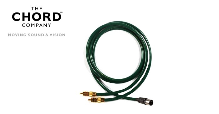 Chord Cobra 3 2 RCA to 5 Pin Din 1m
