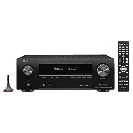 Denon AVR-X1500H 7.2 Channel Full 4K Ultra HD AV Receiver With W
