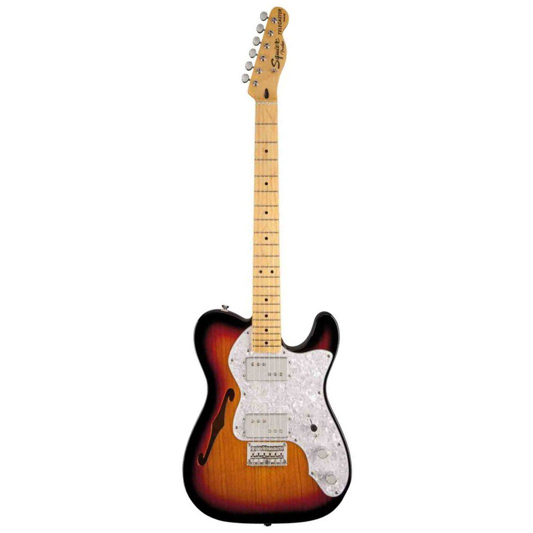 Squier Vintage Modified 72 Telecaster Thinline, Maple FB, 3-Tone