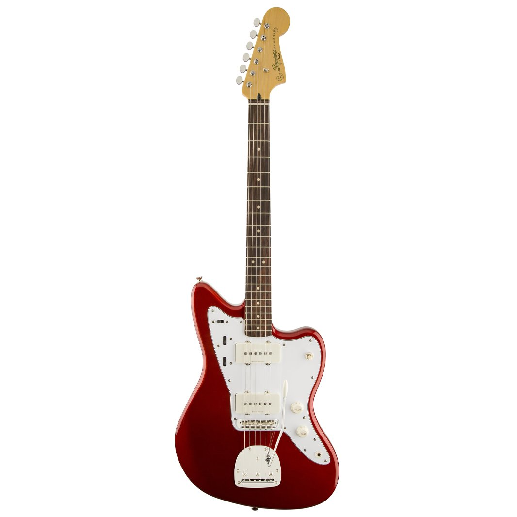 Squier Vintage Modified Jazzmaster Electric Guitar, Candy Apple