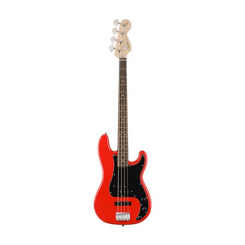 Squier Affinity Precision PJ Bass Guitar, Race Red