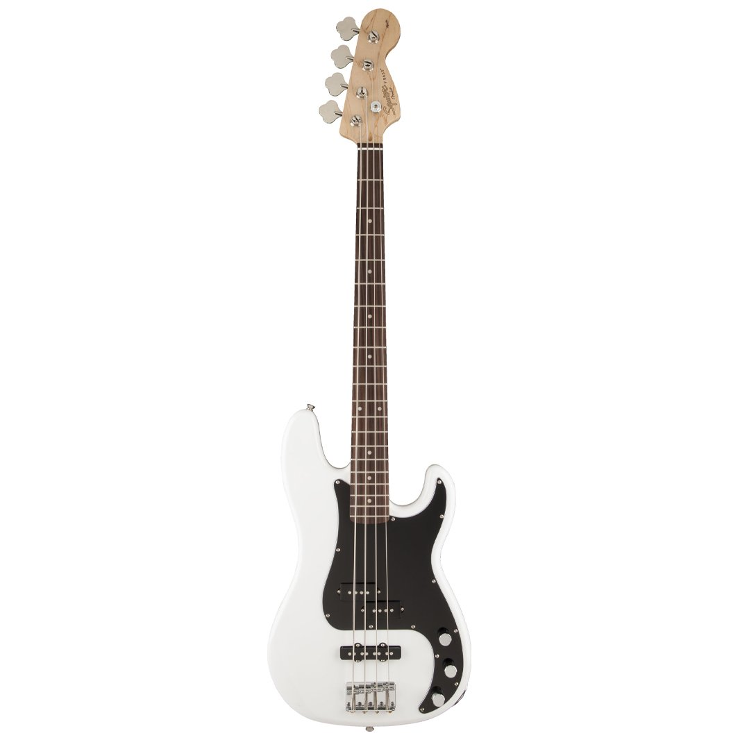 Squier Affinity Precision PJ 4-String Bass, Rosewood FB, Olympic