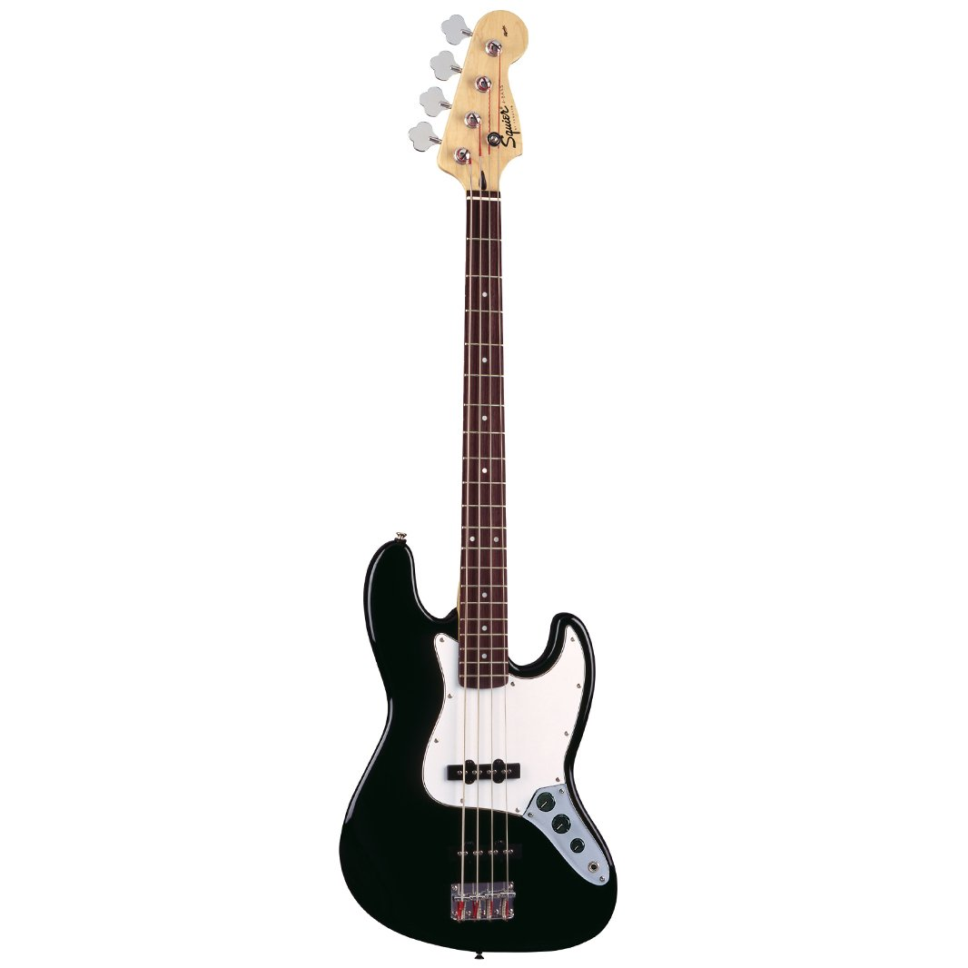 Squier Affinity Jazz 4-String Bass, Rosewood FB, Black