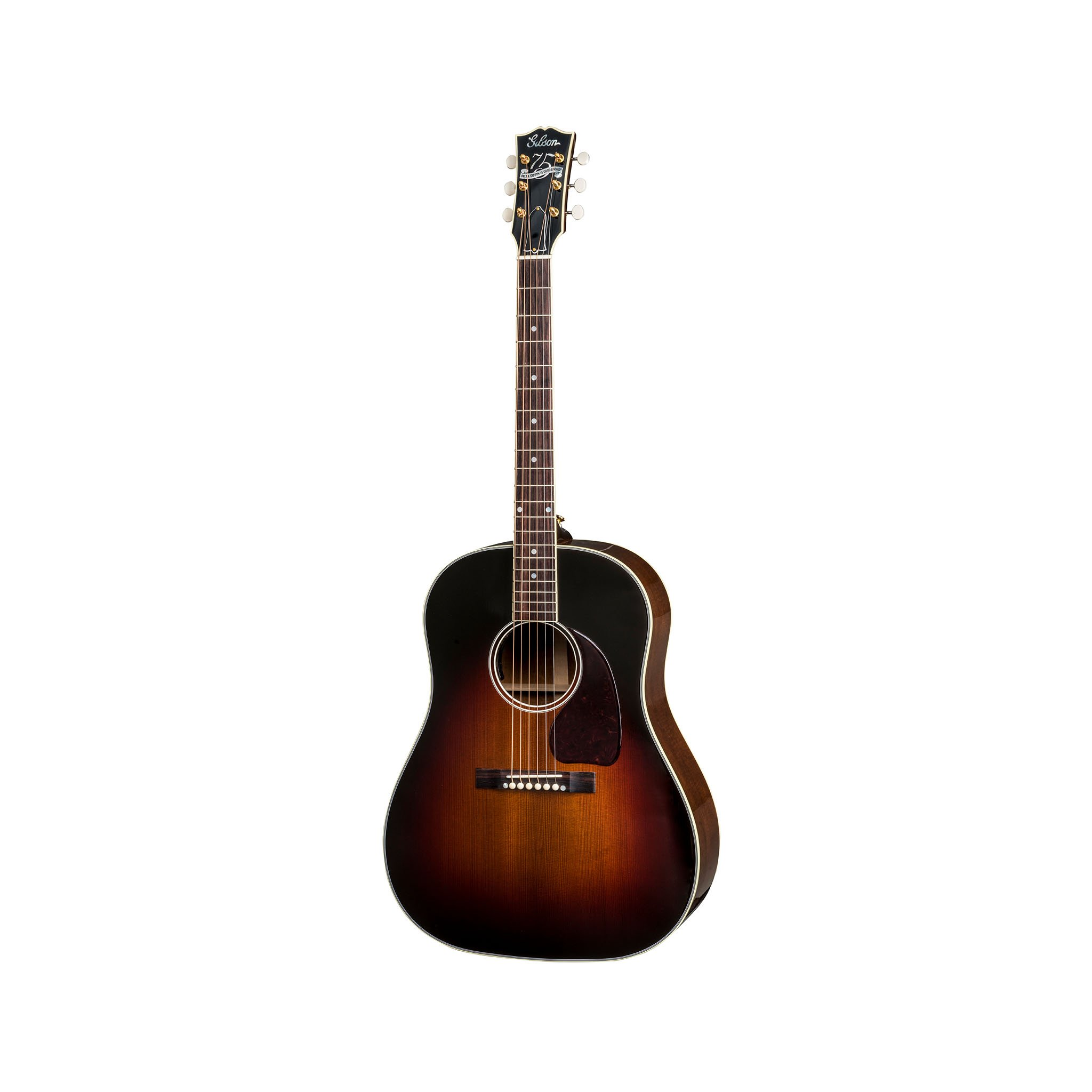 Gibson 2018 75th Anniversary J-45 Acoustic Guitar w/Case, Tribur