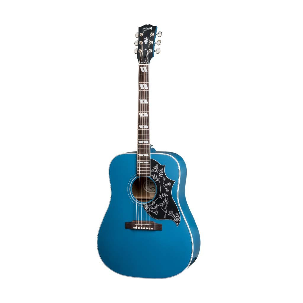 Gibson 2018 Hummingbird Acoustic Guitar w/Case, Big Sky Blue